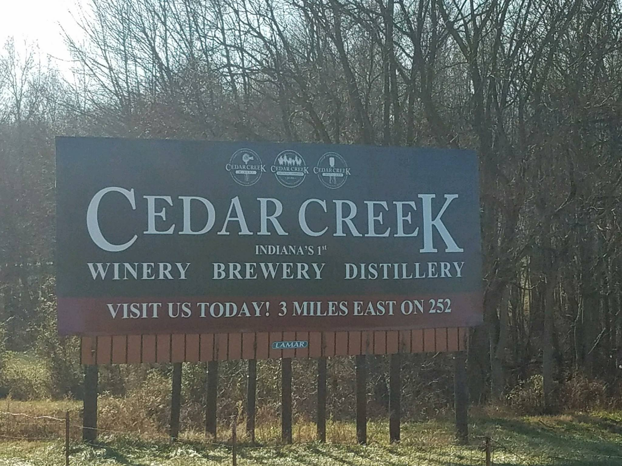 Cedar Creek Winery, Distillery and Brewery Main Image